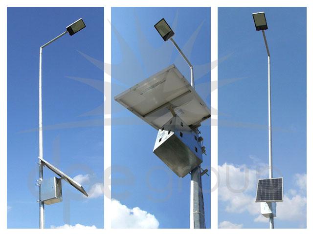 Irak Solar Sokak Aydınlatma