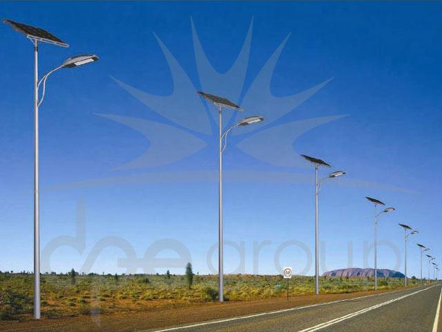 Solar Cadde Aydınlatması