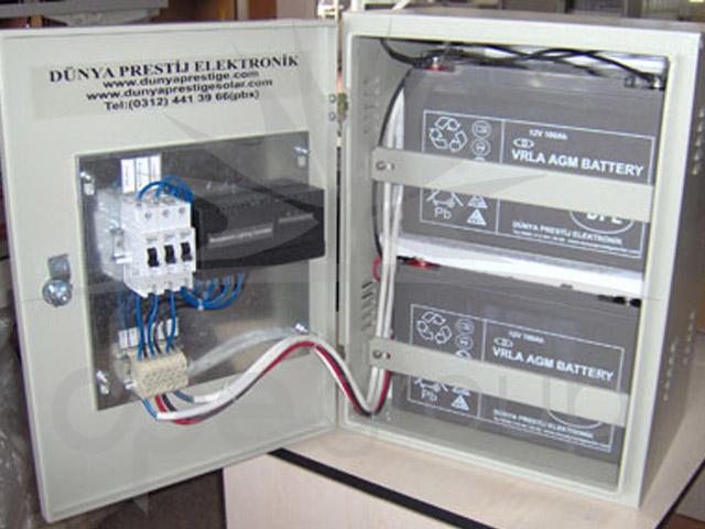 Solar Otomatik Şarj Lamba Kontrolü