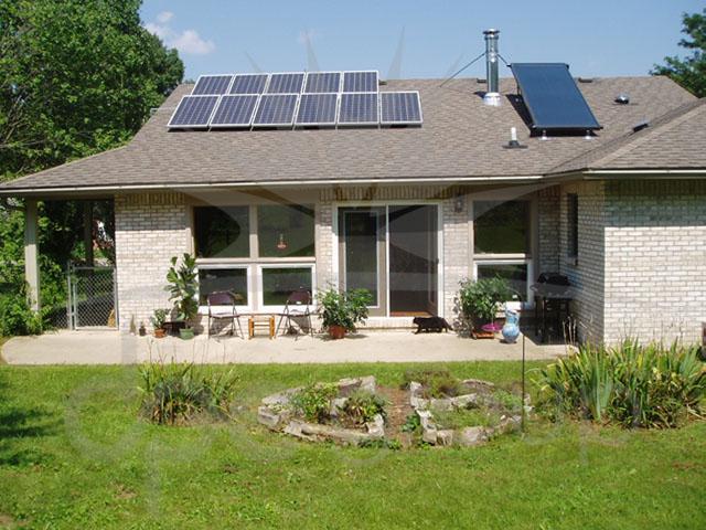 Solar Panel Ev Tipi