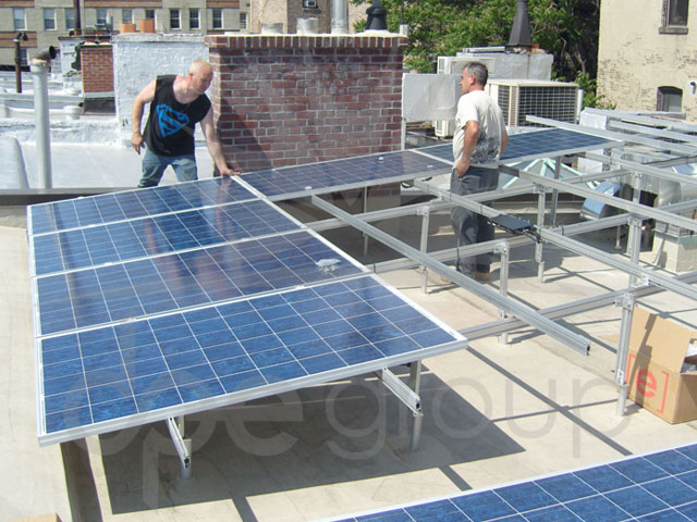 Solar Panel İşyeri