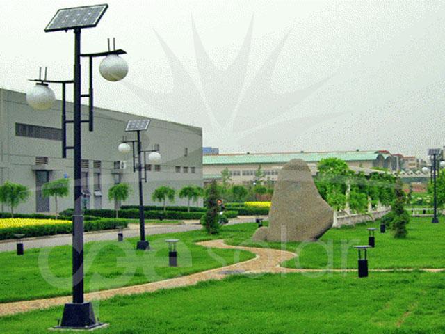 Solar Park Aydınlatması