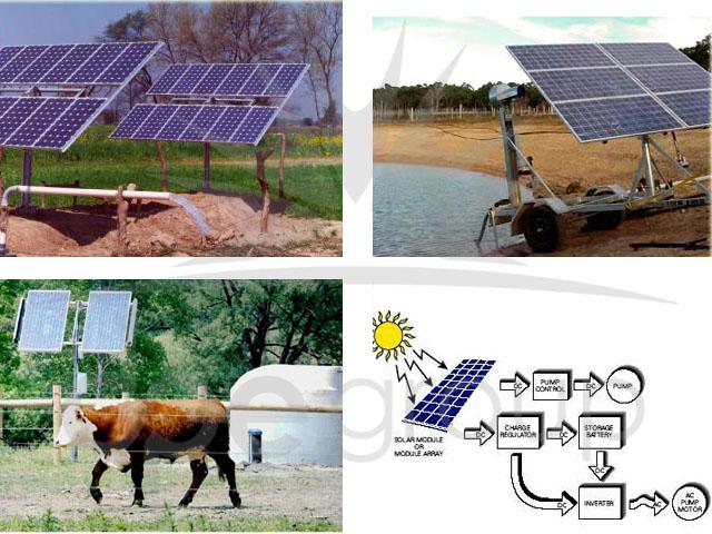 Tarımda Solar Enerji Kullanımı, Solar Pompa